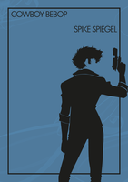 Spike Spiegel - Cowboy Bebop by lestath87
