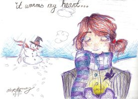 Rose's Ravenclaw Christmas by pluie3et3grenouille