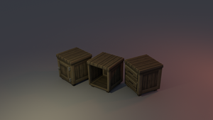 Low poly Drawer by lithium-sound