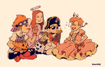 Inktober: 9 The Young Ones Halloween by student-yuuto