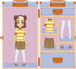 Dolly Dress Up Travel Box by SqueekyTheBalletRat