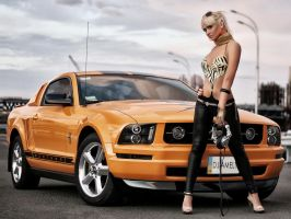 Ford Mustang by jack15312704