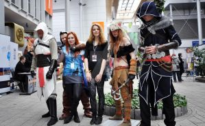 Assassin's Creed Cosplay Group Pyrkon 2013 by SylwiaZimowska