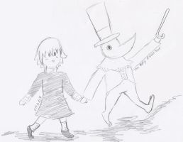 Going On An Adventure With Crona And Excalibur! by Smovegirl