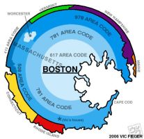Bostonian map of New England by vcfgr