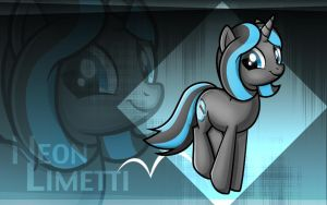 Contest Prize - Neon Limetti (With BG) by WildSoulWS