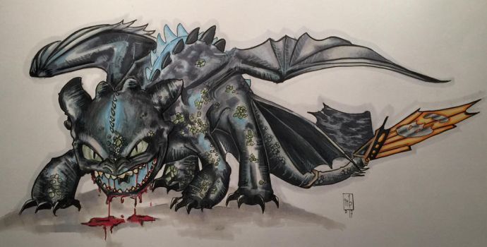 Toothless by ringwrm