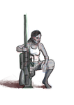 sniper character study by The-Monster-Hunter