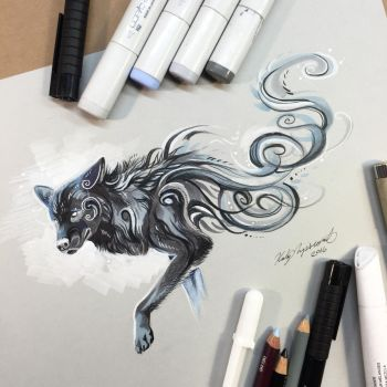 Black Wolf by Lucky978