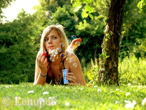 Country Girl III by Lenupet
