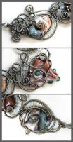 Sea and Sand - details by Faeriedivine
