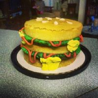 BIG MAC BIRTHDAY CAKE!!! by NUTCRACKER39