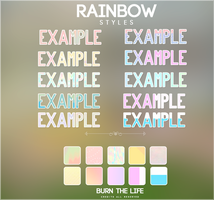 rainbow styles | .asl file by Burn-the-life
