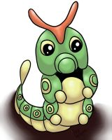 Caterpie by Animal-and-anime-lvr