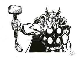 The Mighty Thor by Melski83