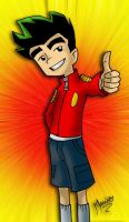 Jake Long thumbsup by MarioRoz