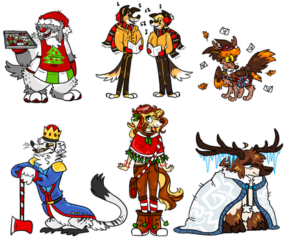 holiday designs auction.CLOSED by SHOUTMILO