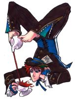 The Mad Hatter by kinxmizu
