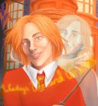 Weasley twins by Wispie