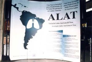 Latin American Thoracic Association -  Banner by VictorHugo