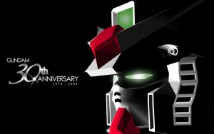 Gundam 30th anniv tribute by candyworx