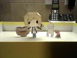 Pewdiepie Papercraft by jweiss12345
