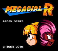 Megagirl R Title Screen v2 by GatucaMan
