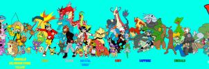 """Pokemon Adventures"" cast by EmSeeSquared"