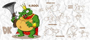 SMASH: K. Rool by professorfandango