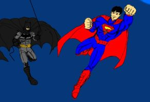 Worlds Finest-The New 52 WIP by dhbraley