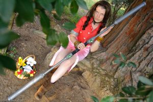aeris parcosplay by Claire-Leonhart