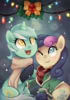 mistletoe by tsurime