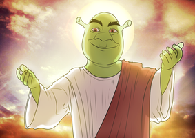 Shrekism by shrekjesusplz