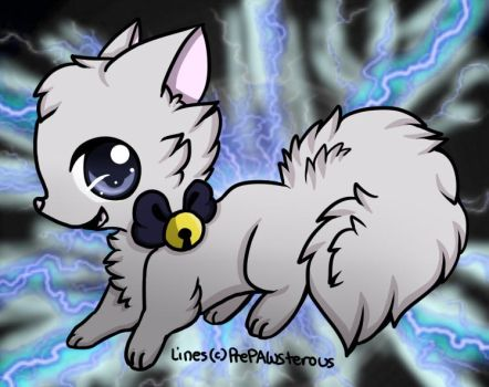 Electric Cat by Nalissia
