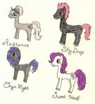 Pony OCs (1) by Riku-Uzumaki