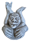 Troll Statue Stock by debzb17 by debzb17