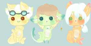 .:Custom Gummi Sharks:. [Done!] by Pieology
