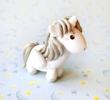 Silver Pegasus Unicorn Miniature by mAd-ArIsToCrAt