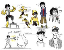 Some More BH6 by animegirl43