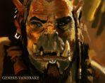 Warcraft Orc Study by IcedEdge