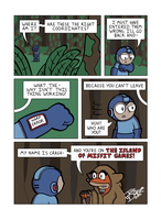 Despondent Mega Man Island of Misfit Game Part 5 by JesseDuRona