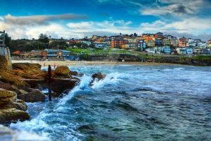 Bronte Beach by heads-up