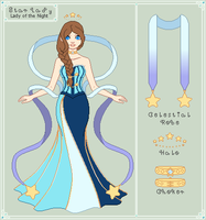 Ref - Lady of the Starry Night Sky by StargazerSammie