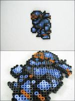 Final Fantasy 6 Shadow bead sprite by 8bitcraft