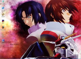 Gundam Seed Kira and Athrun by LoveableNeko