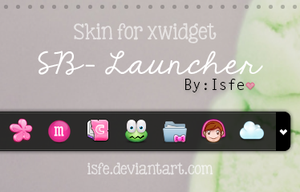 Skin for xwidget - Sb launcher by Isfe