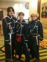 Ikkicon 7 - Col. and co. by Azurellia