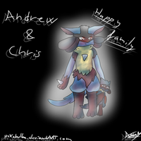 Andrew and Christopher by pokebulba