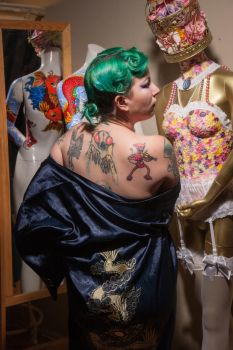 Tattooed Mannequin 1 by Mistress-Zelda