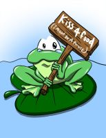 Frog Colored by greytei